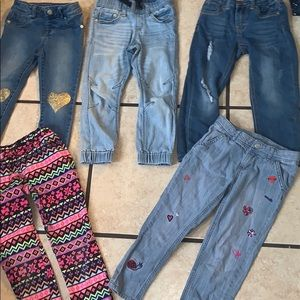 Other - Girls size 5 jeans lot